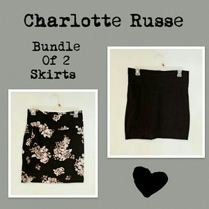 Bundle of 2 mini skirts